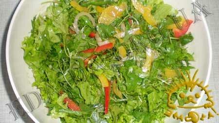 Кулинарные рецепты с фото - Салат с рукколой и грудинкой, Фото 7