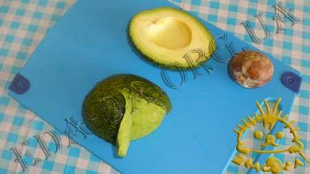 Кулинарные рецепты блюд с фото - Салат с авокадо, пошаговое фото 2