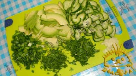 Кулинарные рецепты блюд с фото - Салат с авокадо, пошаговое фото 3