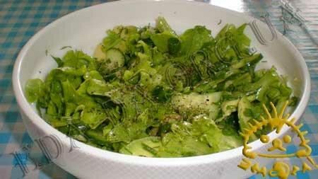 Кулинарные рецепты блюд с фото - Салат с авокадо, пошаговое фото 7