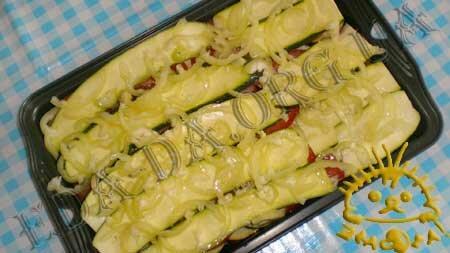 Кулинарные рецепты блюд с фото - Овощная запеканка, пошаговое фото 7