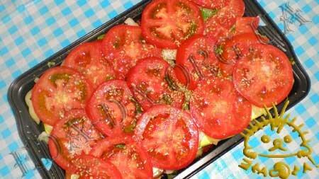 Кулинарные рецепты блюд с фото - Овощная запеканка, пошаговое фото 10
