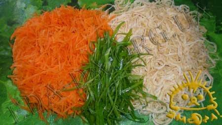 Кулинарный мастер класс - Салат с морской капустой, шаг 11