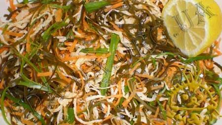Кулинарный мастер класс - Салат с морской капустой, шаг 13
