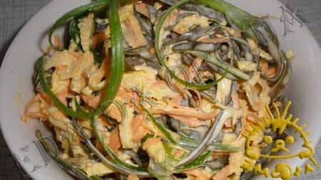 Кулинарный мастер класс - Салат с морской капустой, шаг 15