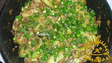 Кулинарные рецепты блюд с фото - Брокколи с грибами и томатами, пошаговое фото 8.