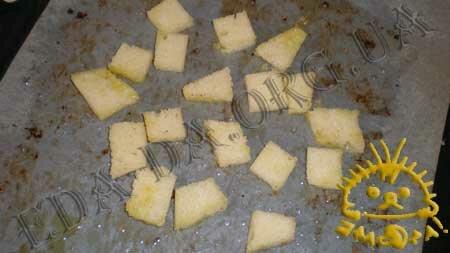 Кулинарные рецепты блюд с фото - Цветная капуста, запеченная в духовке, с сухариками и лимонным соусом, пошаговое фото 10.