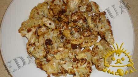 Кулинарные рецепты блюд с фото - Цветная капуста, запеченная в духовке, с сухариками и лимонным соусом, пошаговое фото 7.
