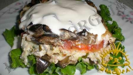 Кулинарный мастер класс - Запеканка из баклажанов. Нажать для увеличения.