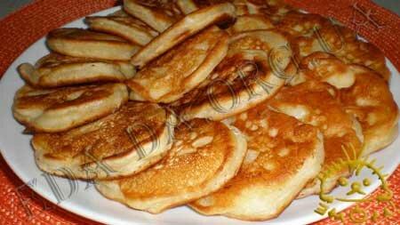 Кулинарные рецепты блюд с фото - Оладьи с яблоками, пошаговое фото 8
