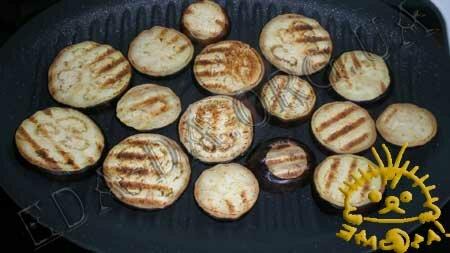 Кулинарные рецепты с фото - 'Сэндвичи' из кабачков и баклажанов с помидорами, Фото 2