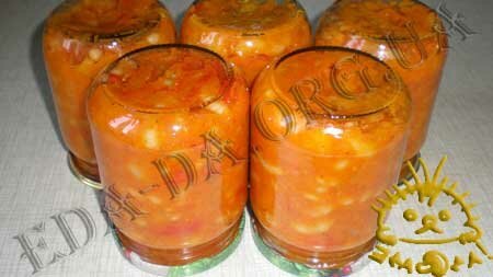 Кулинарные рецепты с фото - Овощная закуска с фасолью, Фото 11