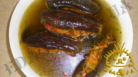 Рецепт квашенных баклажан фаршированных