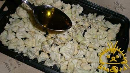 Кулинарные рецепты блюд с фото - Теплый салат с цветной капустой, пошаговое фото 1