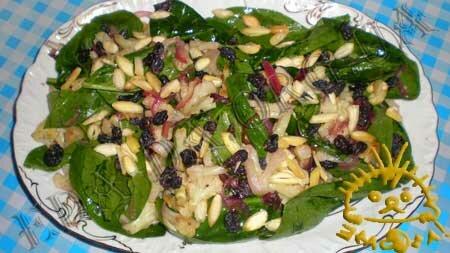Кулинарные рецепты блюд с фото - Теплый салат с цветной капустой, пошаговое фото 9