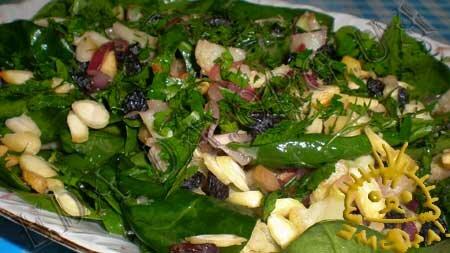 Кулинарные рецепты блюд с фото - Теплый салат с цветной капустой, пошаговое фото 10