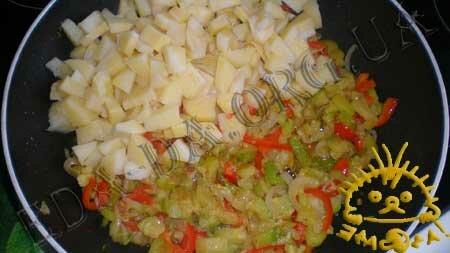 Кулинарные рецепты с фото - Овощное рагу с маринованными шампиньонами, Фото 3