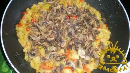 Кулинарные рецепты с фото - Овощное рагу с маринованными шампиньонами, Фото 5