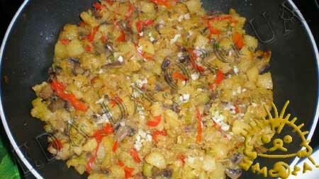 Кулинарные рецепты с фото - Овощное рагу с маринованными шампиньонами, Фото 6