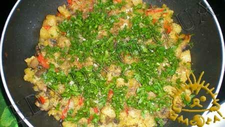 Кулинарные рецепты с фото - Овощное рагу с маринованными шампиньонами, Фото 8