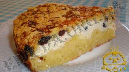 Кулинарные рецепты блюд с фото - Королевская ватрушка. Нажать для увеличения.