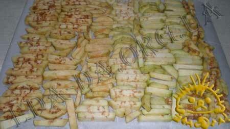 Кулинарные рецепты с фото - Сушеные баклажаны, Фото 1