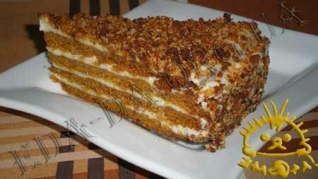 Кулинарные рецепты с фото - Торт Медовик. Нажать для увеличения.