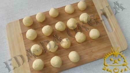 Кулинарные рецепты блюд с фото - Ореховые ватрушки (песочное печенье), пошаговое фото 6