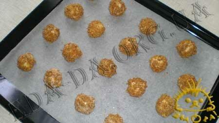 Кулинарные рецепты блюд с фото - Ореховые ватрушки (песочное печенье), пошаговое фото 10