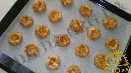 Кулинарные рецепты блюд с фото - Ореховые ватрушки (песочное печенье), пошаговое фото 11