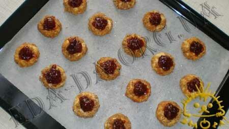 Кулинарные рецепты блюд с фото - Ореховые ватрушки (песочное печенье), пошаговое фото 12