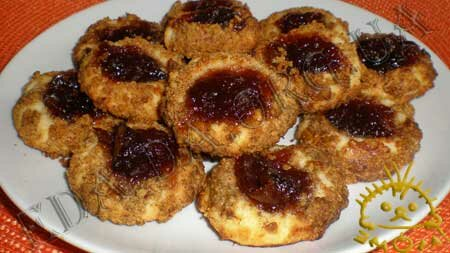 Кулинарные рецепты блюд с фото - Ореховые ватрушки (песочное печенье), пошаговое фото 14
