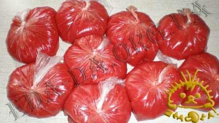 Кулинарные рецепты с фото - Замороженный томатный сок, Фото 2