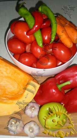 Кулинарные рецепты с фото - Аджика с тыквой, Фото 0