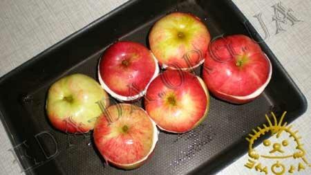 Кулинарные рецепты блюд с фото - Печеные яблоки с творогом, пошаговое фото 6