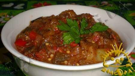 Кулинарные рецепты с фото - Баклажанная икра, Фото 6