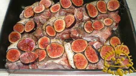 Кулинарные рецепты с фото - Свинина на косточке с инжиром, Фото 2