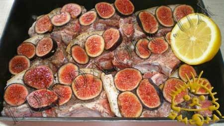Кулинарные рецепты с фото - Свинина на косточке с инжиром, Фото 3