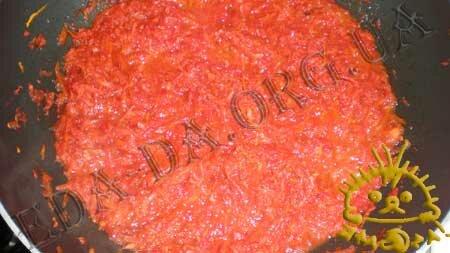 Кулинарные рецепты с фото - Постный борщ с консервированной рыбой и фасолью, Фото 4