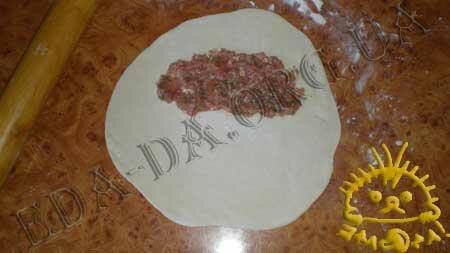 Кулинарные рецепты блюд с фото - Чебуреки, пошаговое фото 7