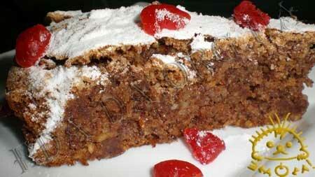 Кулинарные рецепты с фото - Ореховый пирог с шоколадом, Фото 11