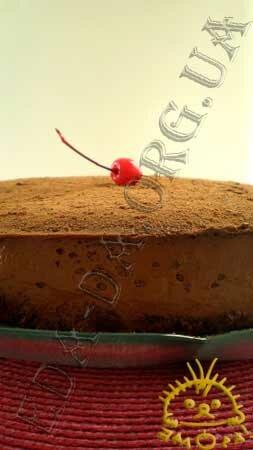 Кулинарные рецепты с фото - Торт Шоколадное чудо. Нажать для увеличения.