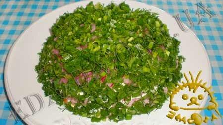 Кулинарные рецепты блюд с фото - Салат Грибная поляна, пошаговое фото 8