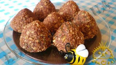Кулинарные рецепты блюд с фото - Печенье для сладкоежек (без выпекания). Нажать для увеличения.