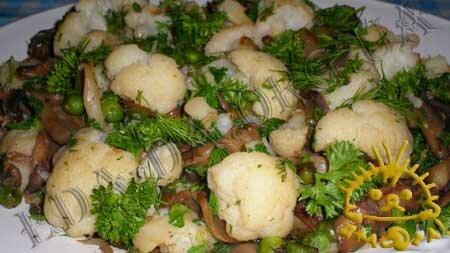 Кулинарные рецепты блюд с фото - Грибное рагу с овощами. Нажать для увеличения.