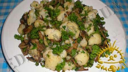 Кулинарные рецепты блюд с фото - Грибное рагу с овощами, пошаговое фото 7