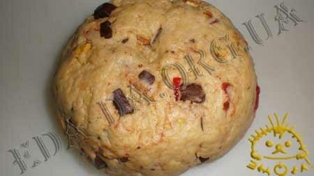 Кулинарные рецепты с фото - Печенье с орехами, шоколадом и сушеными фруктами, Фото 5