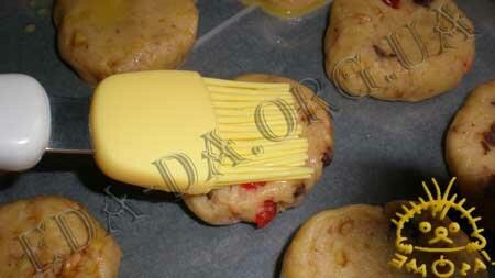 Кулинарные рецепты с фото - Печенье с орехами, шоколадом и сушеными фруктами, Фото 9