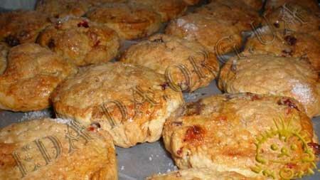 Кулинарные рецепты с фото - Печенье с орехами, шоколадом и сушеными фруктами, Фото 11