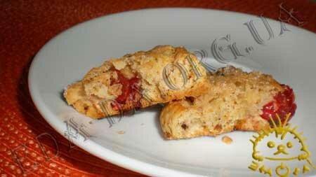Кулинарные рецепты с фото - Печенье с орехами, шоколадом и сушеными фруктами, Фото 12
